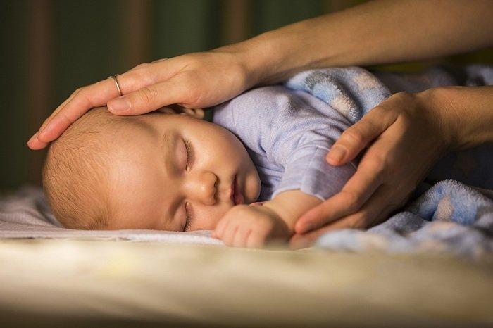 Trẻ ngủ say