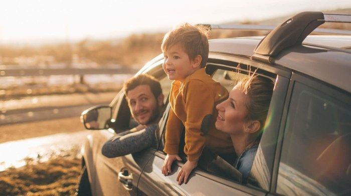 gia đình đi chơi, tình cảm, thúc đẩy hành vi đúng đắn