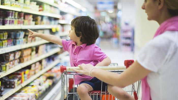 mẹ và bé đi siêu thị, mở rộng vốn từ vựng