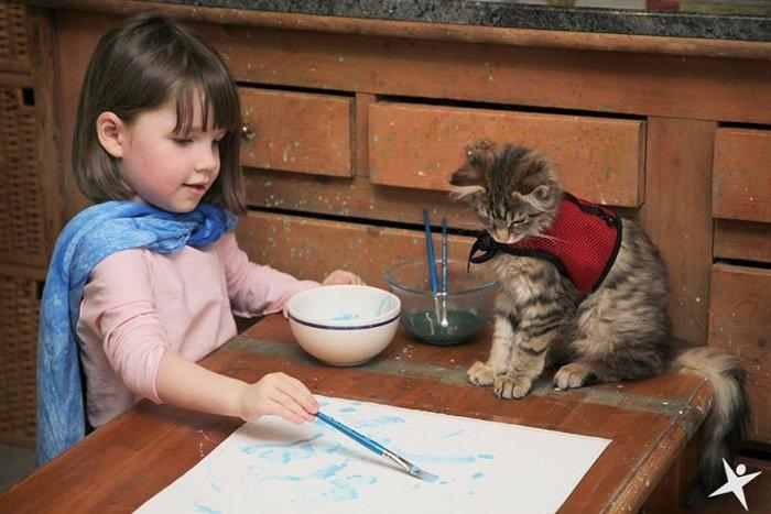 Trẻ tự kỷ có thể tiếp thu rất nhanh những chủ đề trẻ yêu thích.