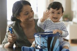 Các cách để bố mẹ giúp bé dưới 1 tuổi tập nói
