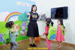 Học từ vựng với bài hát Goodbye Song | ODP PRACTICE