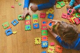 """""""Bí kíp"""" dạy bé học chữ số đơn giản mà hiệu quả"""