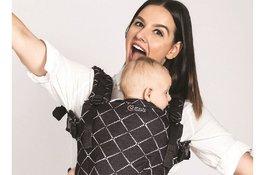 Cách sử dụng đai địu em bé đúng và an toàn