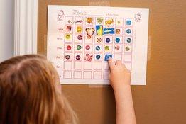Cách sử dụng phiếu bé ngoan hiệu quả để điều chỉnh hành vi của trẻ
