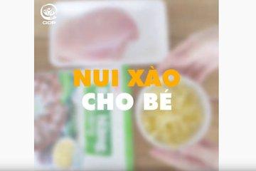 Hướng Dẫn Làm Nui Xào Cho Bé   ODP PRACTICE