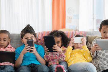 Cẩm nang sử dụng thiết bị điện tử (với bé 4-6 tuổi)