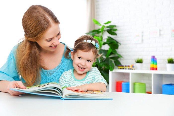 phương pháp dạy bé tập đọc của mẹ
