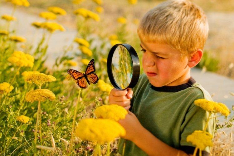 Trẻ ham học hỏi, khám phá thế giới xung quanh
