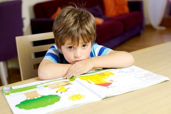 trẻ học kém tập trung