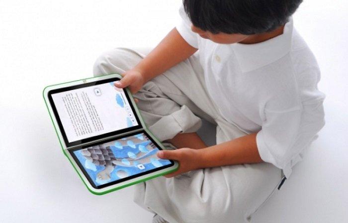 sách điện tử cho bé có tốt không, bé đọc sách