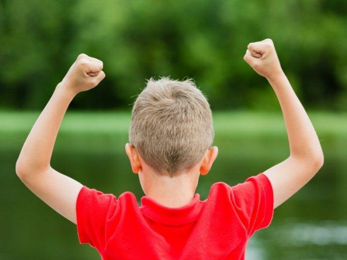 trẻ có lòng tự trọng, tự tin và hạnh phúc