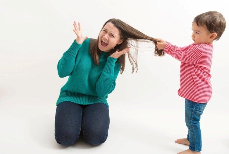 Trẻ đánh bố mẹ để thử nghiệm giới hạn được cho phép