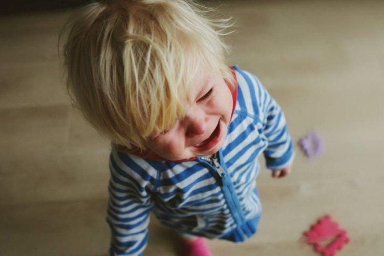 trẻ ăn vạ là do chưa có đủ kỹ năng giao tiếp để truyền đạt ý muốn của mình