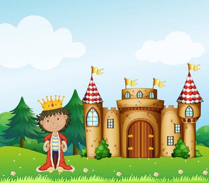 vua và lâu đài