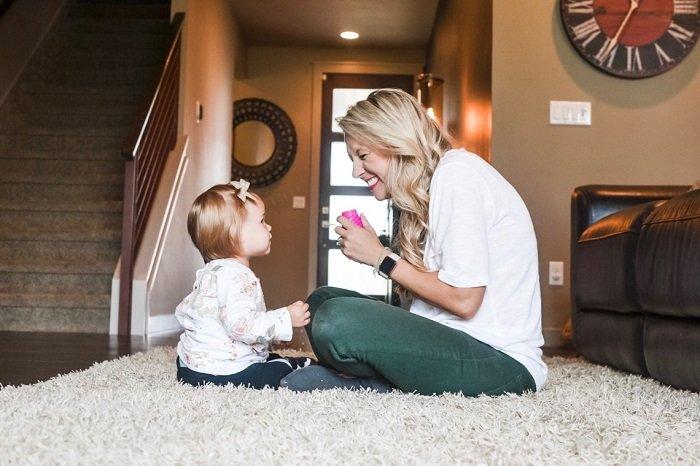 mẹ dạy trẻ biết nói sớm