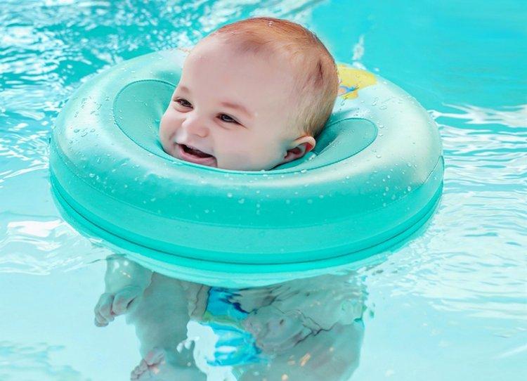 phao bơi cổ cho trẻ sơ sinh