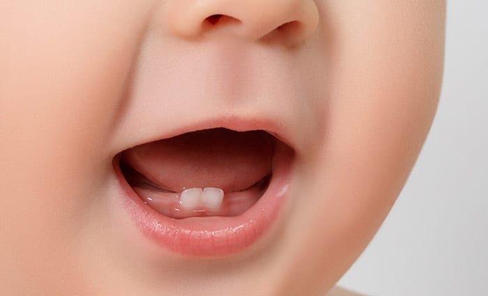 Quy trình mọc răng của trẻ