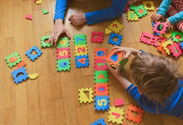 dạy bé học số từ 1 đến 5