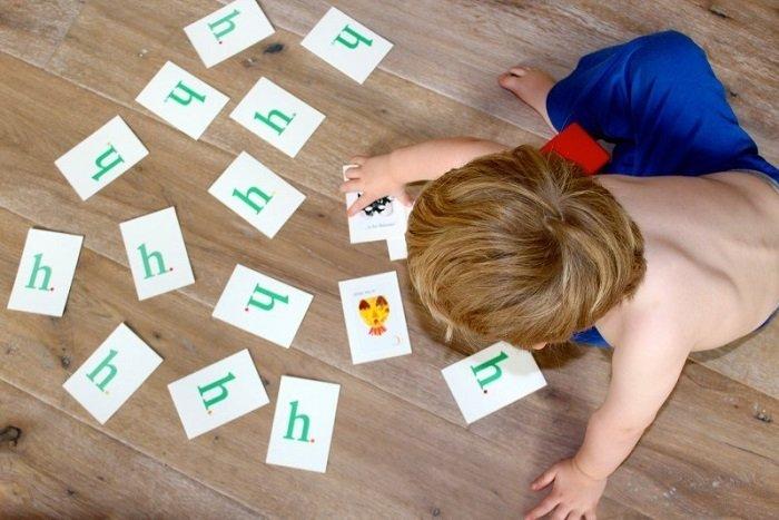 cách tự làm thẻ flashcard cho bé