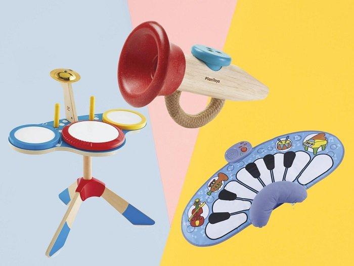 đồ chơi cho bé dưới 1 tuổi tạo ra âm thanh