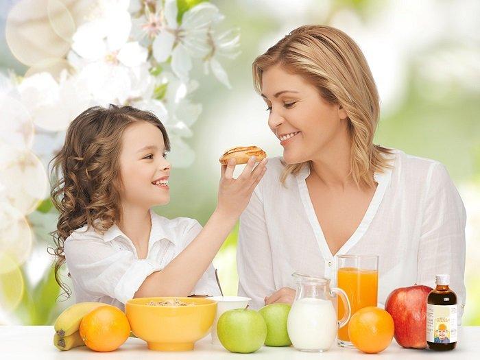 Bổ sung vitamin c cho bé