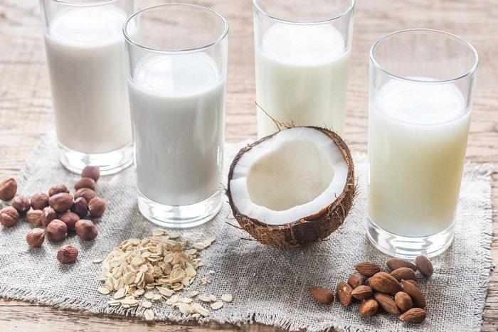 cách làm sữa hạt cho bé tăng cân