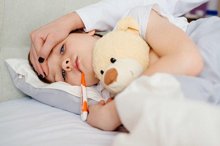 Trẻ hay bị ốm vặt
