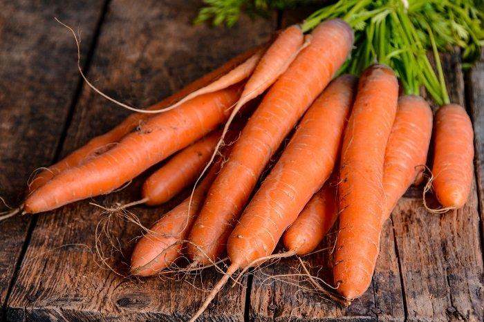 Cà rốt không chỉ giàu vitamin mà còn giúp tẩy giun cho trẻ dưới 1 tuổi hiệu quả.
