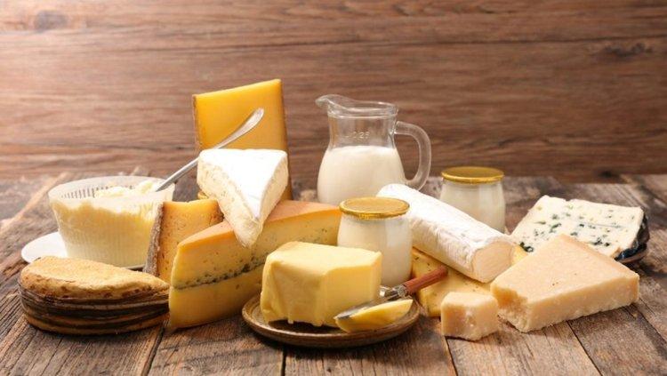 các chế phẩm từ sữa là thực phẩm giàu đạm cho bé