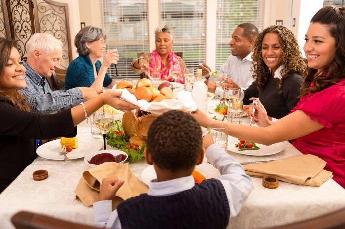 buổi tụ họp gia đình
