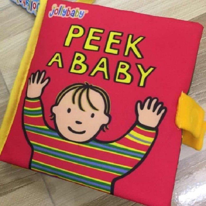sách vải cho bé dưới 1 tuổi