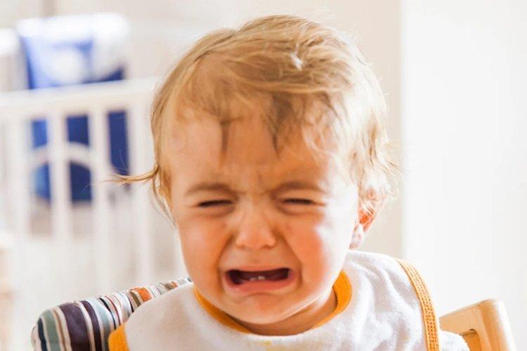 bé đi học khóc nhiều