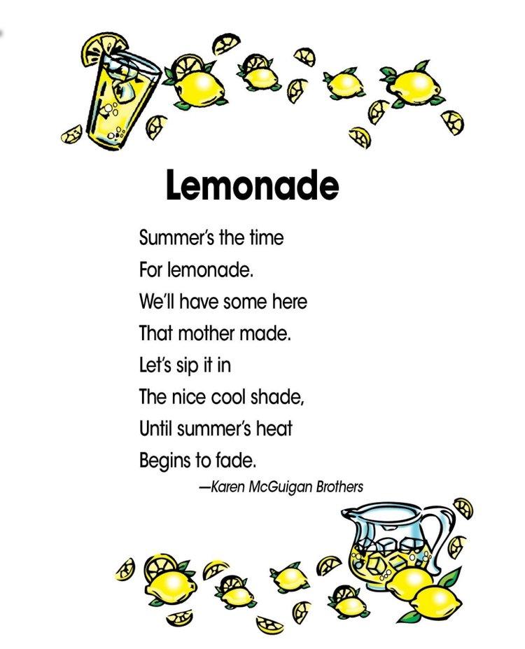 thơ tiếng Anh cho trẻ em