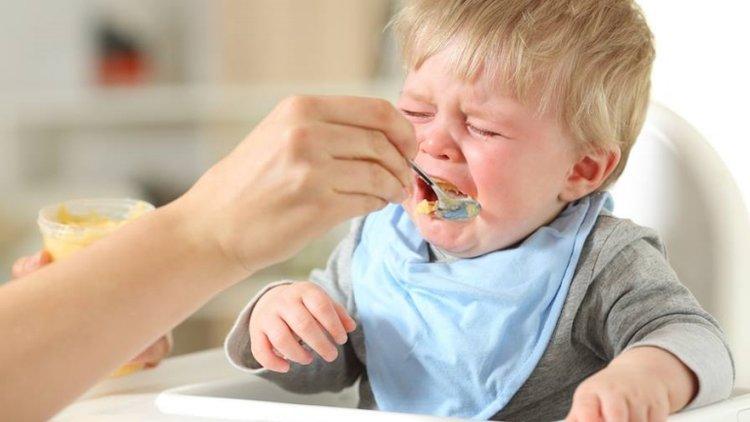 biếng ăn sinh lý ở trẻ nhỏ