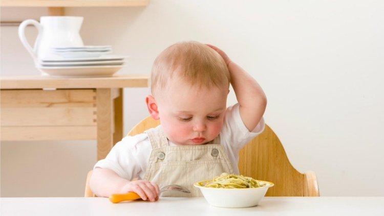 giai đoạn biếng ăn sinh lý ở trẻ