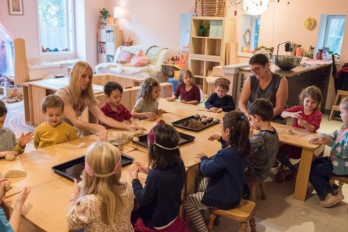 Lớp học theo phương pháp giáo dục Steiner