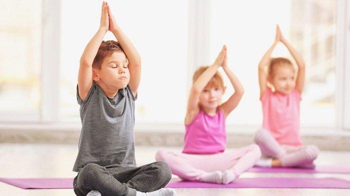 yoga dành cho trẻ em