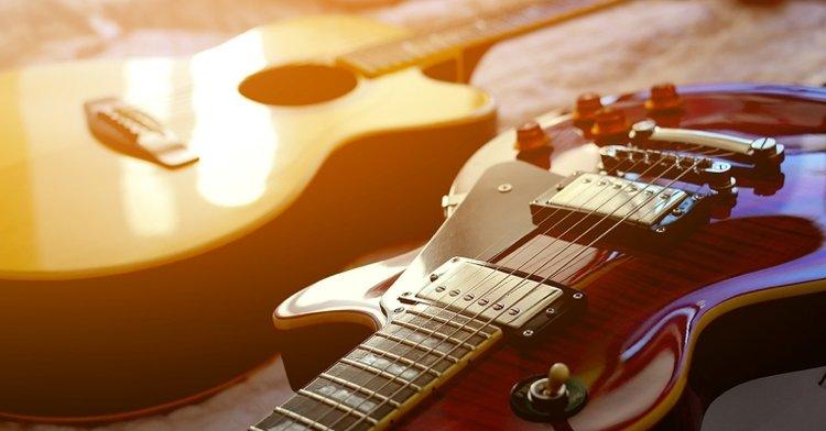 đàn guitar điện, electric guitar