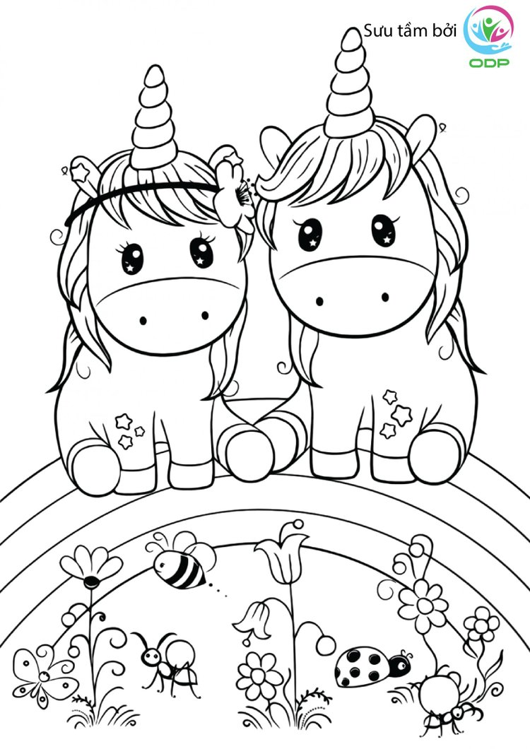 Sử dụng những hình con vật cho bé tập tô màu dưới đây sẽ giúp bé có thêm nhiều kiến thức về màu sắc và thế giới xung quanh.