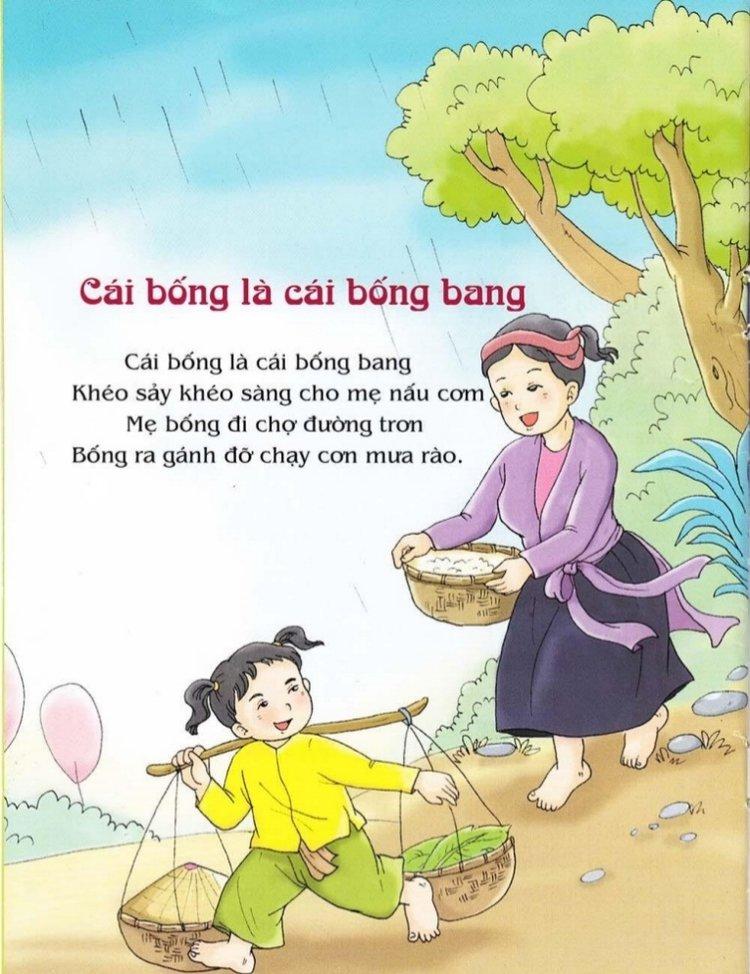 bài hát ru cho bé cái bống bang