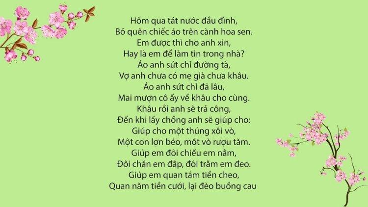 ca khúc hát ru cho bé